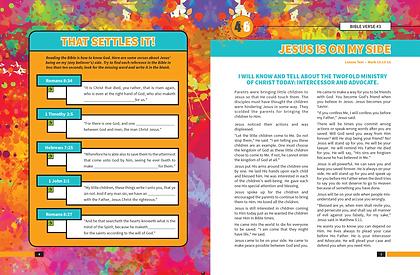 Bible Challene Student Leaflet