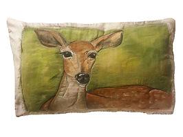 Pet Portrait with Pillow Cover