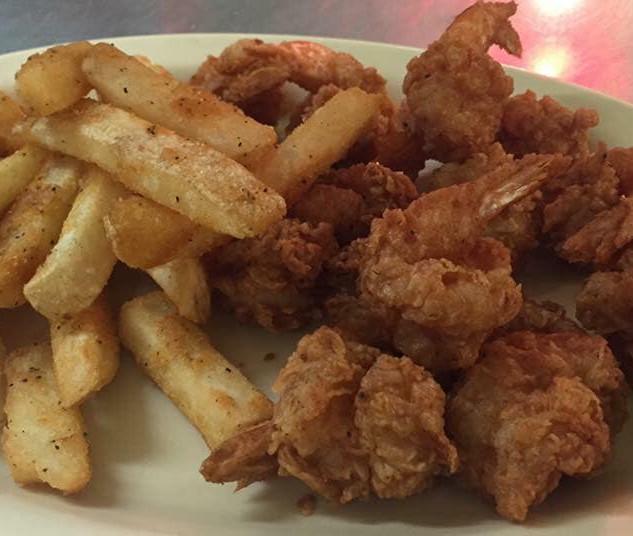12 pc. Fried Shrimp Platter