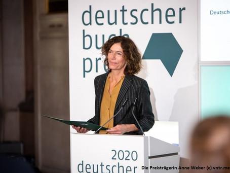Deutscher Buchpreis 2020- Die Gewinnerin Anne Weber