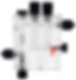 Держатель датчиков PH-RX (FS)