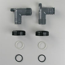 """Фитинги угловые PVC 1""""BSPT (V3007-16)"""
