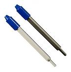 Датчик температуры PT100. Материал исполнения: стекло и н/ст AISI 316.