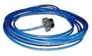 Датчик температуры PT100 ПВХ с кабелем 5 м.