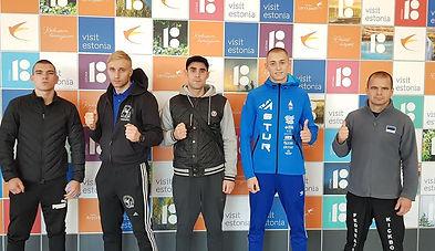 European Championship 2018 wako estonia team