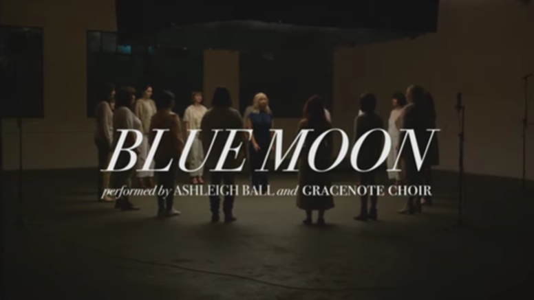 Blue Moon by Ashleigh Ball, performed with Gracenote. Vancouver 2019.