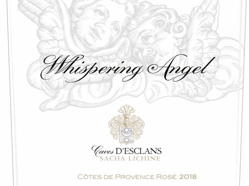 Chateau d'Esclans Whispering Angel Rose 2018