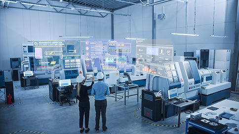 Industry 4.0 Factory: Two Engineers Uses