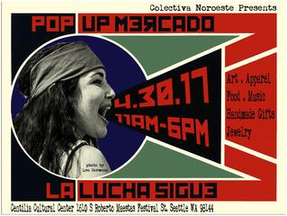 Pop Up Mercado: La Lucha Sigue