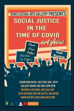 Social Justice in the Time of Covid Art Exhibition