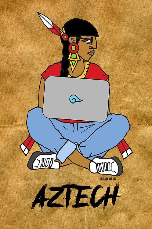 Artist Print l Aztech