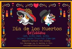 Dia de los Muertos Art Exhibition