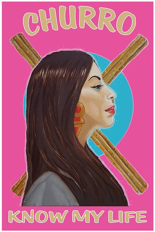 Artist Print   Churro Know My Life