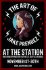 The Art of Jake Prendez at the Station Coffee Shop