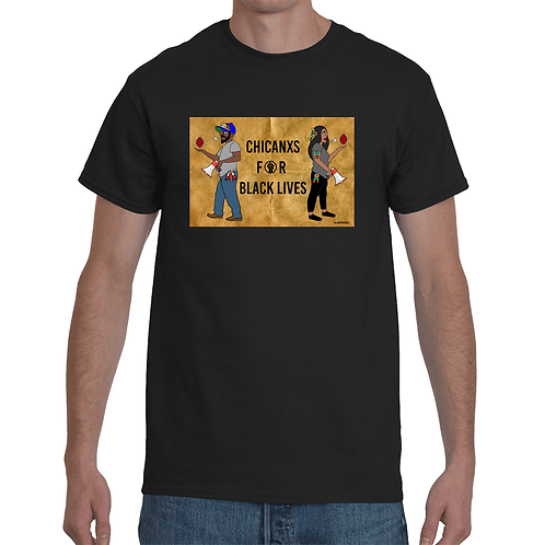 Men's T-shirt   Chicanxs for Black Lives