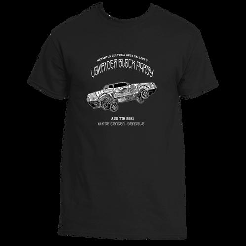Unisex T-shirt | Black Lowrider Block Party