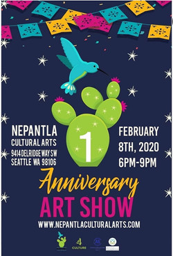 1 Year Anniversary Art Exhibition