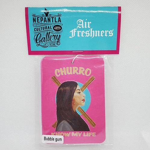 Churro Know My Life | Nepantla Air Freshener