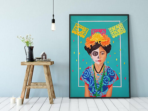 Reproduction on Canvas | La Niña
