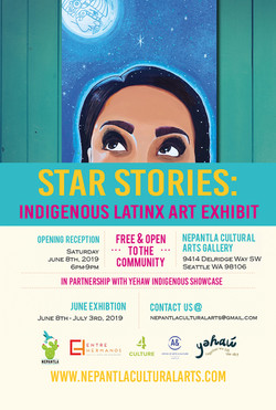 Star Stories: Indigenous Latinx Art Exhibition
