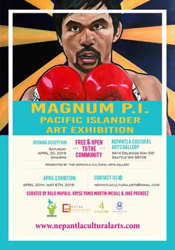 Magnum P.I. Pacific Islander Art Exhibition