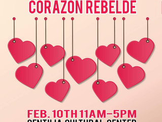 Join us February 10th for the next Pop Up Mercado and pick up something for you sweetheart.