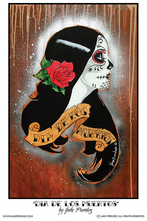 Artist Print | Dia de los Muertos