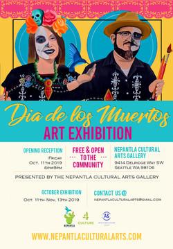 Dia de los Muertos Art Exhibtion