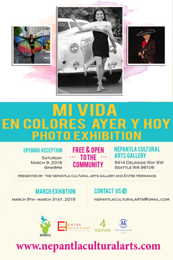 Mi Vida en Colores Ayer y Hoy Photo Exhibition
