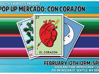 POP UP MERCADO: CON CORAZON