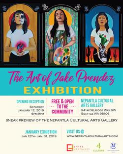 The Art of Jake Prendez Exhibition
