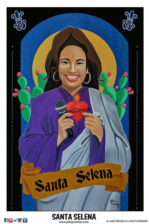 Artist Print | Santa Selena