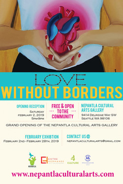 Love Without Borders Art Exhibition