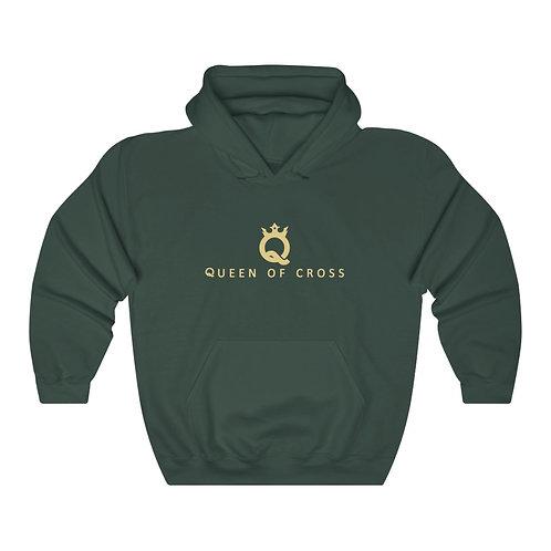 Unisex Heavy Blend™ Hooded Sweatshirt Queen of cross