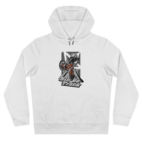 King Hooded Sweatshirt Single track