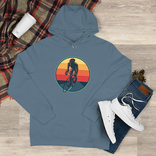 King Hooded Sweatshirt retro cyclist