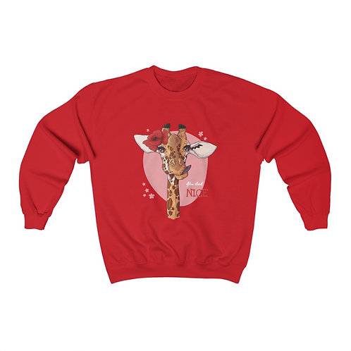 Unisex Heavy Blend™ Crewneck Sweatshirt Giraf