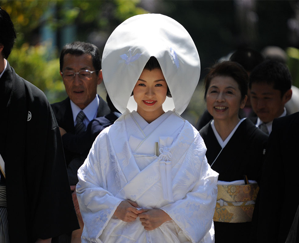 BODAS DEL MUNDO: ¿CÓMO ES UNA BODA JAPONESA TRADICIONAL?