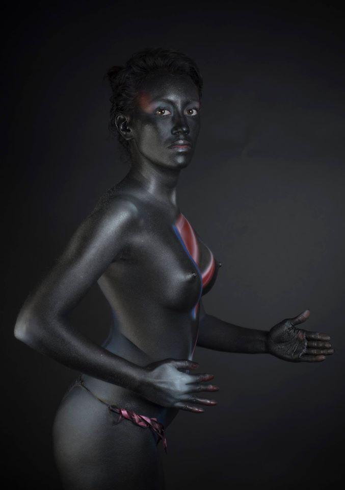 Fotografía de body paint
