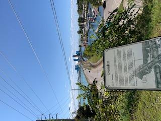 View from Menesetung Bridge