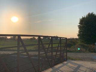 Sunset at Line 148