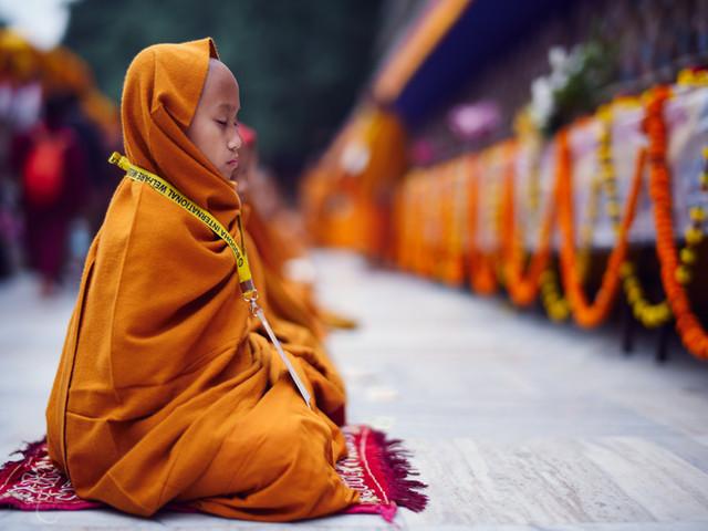 Bodh Gaya Monk