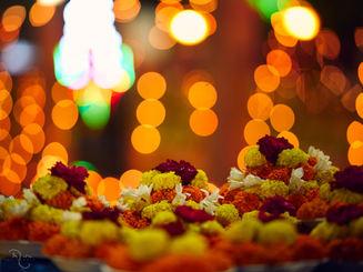 Bodh Gaya Flower Bokeh