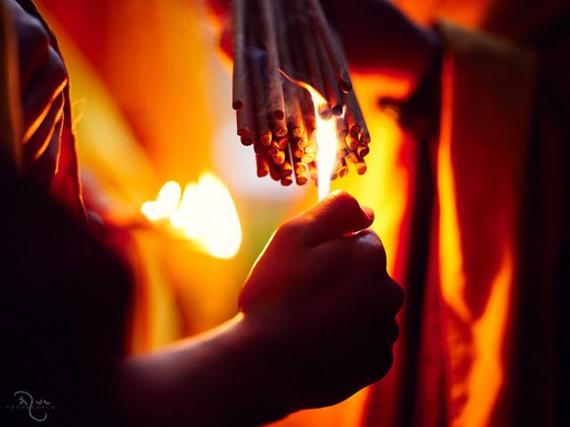 Bodh Gaya Fire