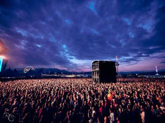 Pohoda Festival Sunset Crowd