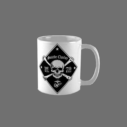 Double Sided Diamond Coffee Mug