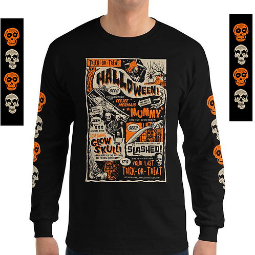 Trick-or-Treat Long Sleeve T-Shirt