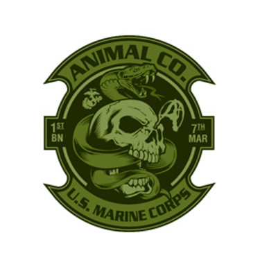 O.D. Animal Decal