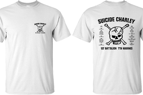 Old Style White Suicide T-Shirt