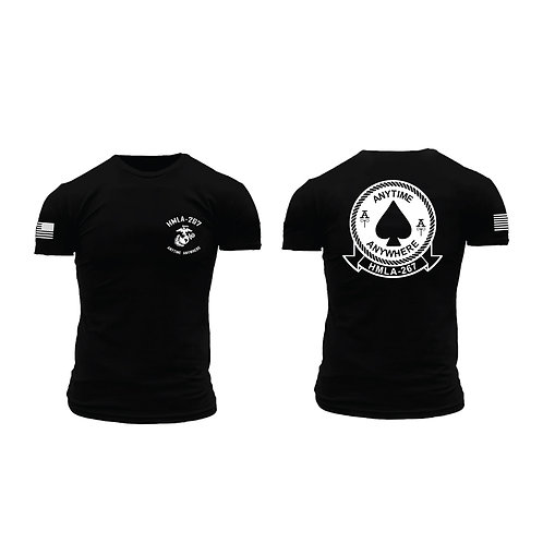 HMLA-267 Short Sleeve T-Shirt - Black Shirt